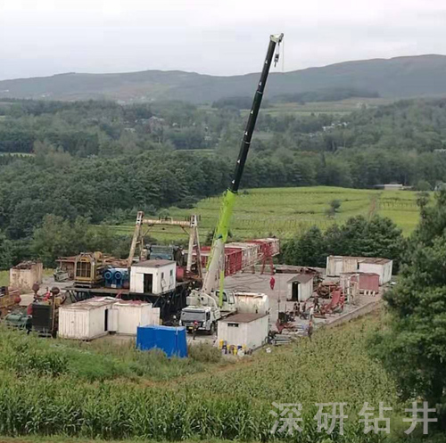 贵州威宁页岩气井